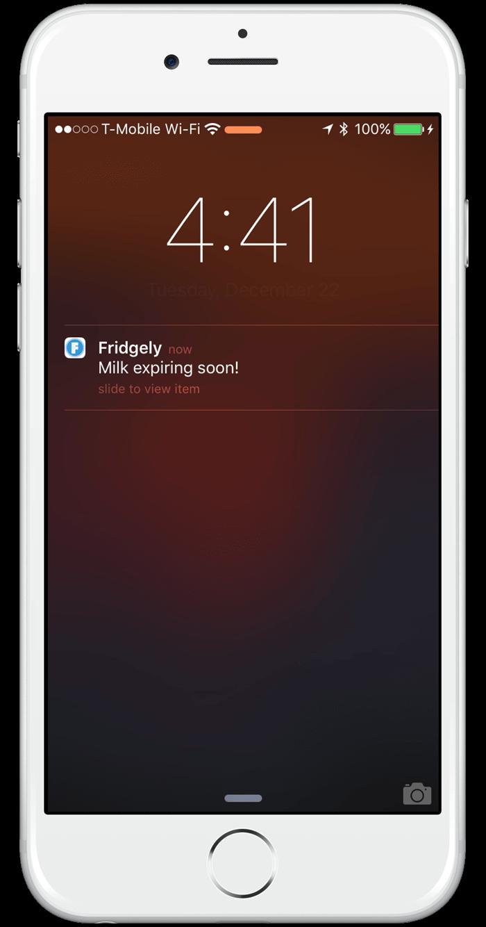 fridgley food expiration date tracker